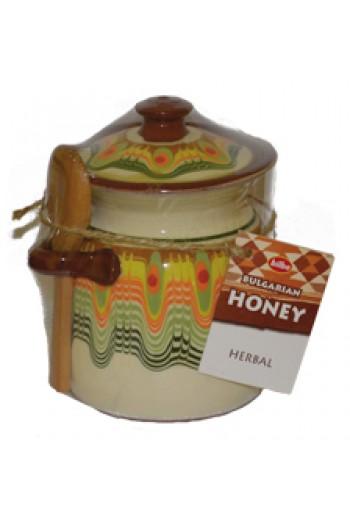 Керамично гърне с мед 380 гр