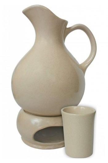 Керамичен комплект за греене и сервиране на медовина